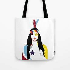 =Juliette Lewis///White= Tote Bag