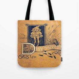 Davy and the Goblin Book Tote Bag