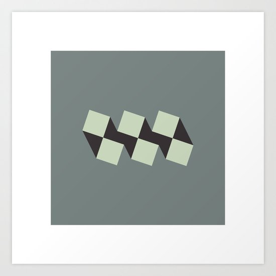 #121 Fratres – Geometry Daily Art Print