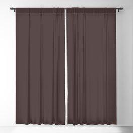 Milk Chocolate Blackout Curtain
