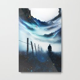 The Abyss A star time traveler Metal Print