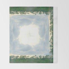 roadtrip: lace Throw Blanket