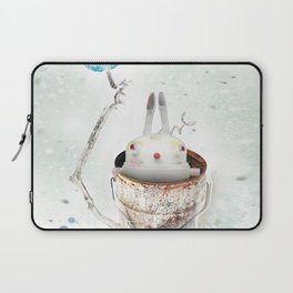 Can time the rabbit Laptop Sleeve