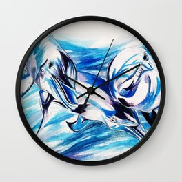 LOVE COMMOTION Wall Clock