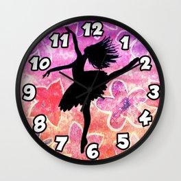 Dancer Wall Clock