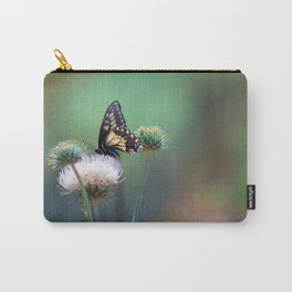 Butterfly Thistle Carry-All Pouch