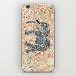 Tribal Paisley Elephant Colorful Henna Floral Pattern iPhone Skin