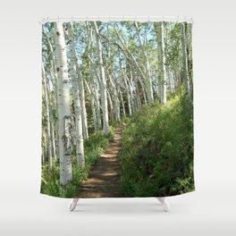 Jud Weibe Trail Telluride Shower Curtain