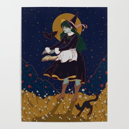 Little witch Poster