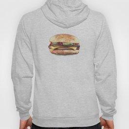 Color pencil Hamburger Hoody