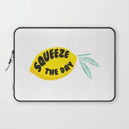 Squeeze The Day Lemon Laptop Sleeve