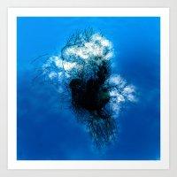 The Sky Tree #1 Art Print