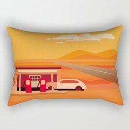 Tonapah Gas Station Rectangular Pillow