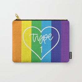 Type One - Rainbow Carry-All Pouch