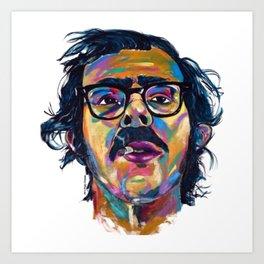 Chuck Close Art Print
