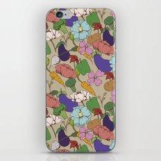Vegetable Flowers iPhone & iPod Skin