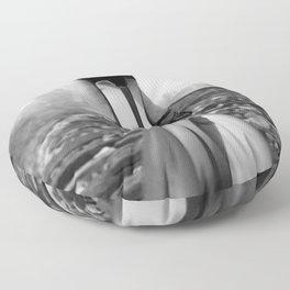 Little Black Pump Stilettos black and white photography - photographs - photograph Floor Pillow