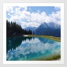 Berchtesgaden National Park and Lake Konigsee Art Print