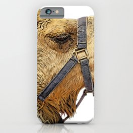Camel Face Laces Available to be Exploited Mammal iPhone Case