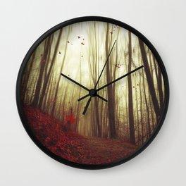 Leaf by Leaf Wall Clock