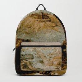 Vintage Grand Canyon National Park Illustration (1919) Backpack