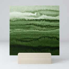 WITHIN THE TIDES FOREST GREEN by Monika Strigel Mini Art Print