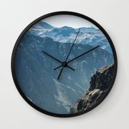 Colca Vertical Wall Clock