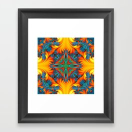 Mandala #8 Framed Art Print