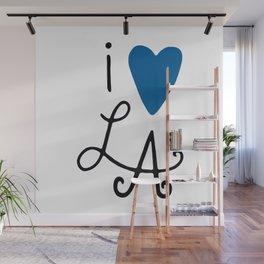 i heart LA ~ Blue! Wall Mural