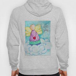February Angel - My Heart is Yours Hoody