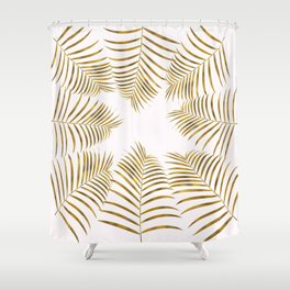 Sunny Days in the Tropical Forest Shower Curtain