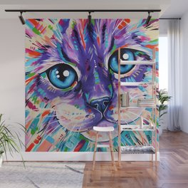 Ragdoll Cat - Cats in Colour 1 Wall Mural