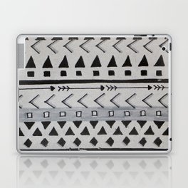 Gray Lines Laptop & iPad Skin