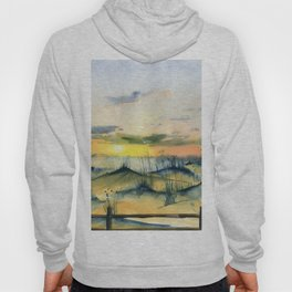 Sunset Over The Dunes Hoody