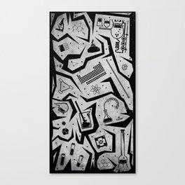 Chem-A-Cons Canvas Print