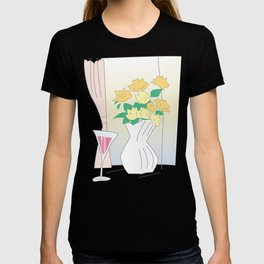 Flowers by the window T-shirt