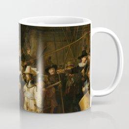 Rembrandt van Rijn - Nightwatch - Nachtwacht (1642) Coffee Mug