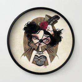 Countess Nocturne Vampire Wall Clock