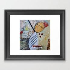 Icons of Hurt Framed Art Print