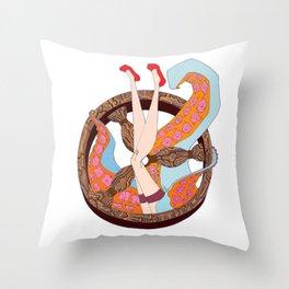 sailor soul color Throw Pillow
