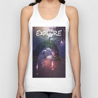 explore Tank Tops featuring Explore by Isaak_Rodriguez