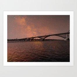 Bridge of Peace Art Print