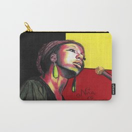 Nina Simone Painting Carry-All Pouch