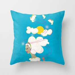 Music is my Inspiration Throw Pillow