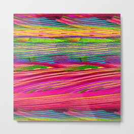 Rainbow Waves  #society6 #decor #buyart Metal Print