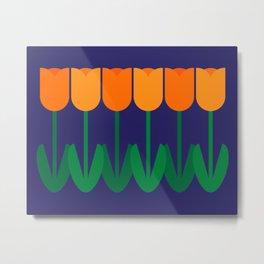 Tulip Time Metal Print
