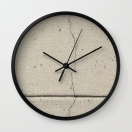 Real, Concrete, not Abstract Wall Clock