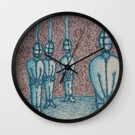 take their minds Wall Clock