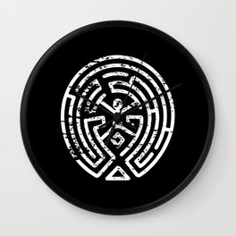 Westworld logo Wall Clock