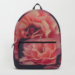 Roses in the night garden Backpack